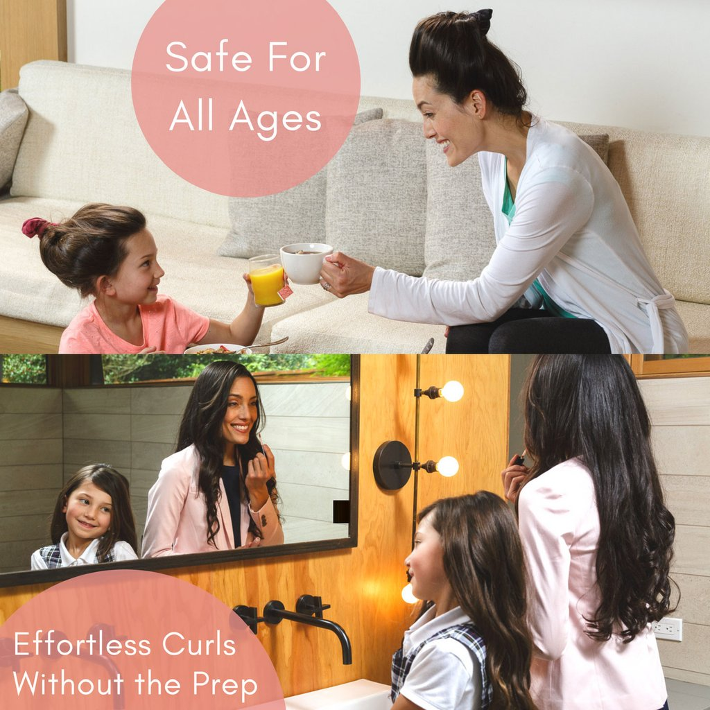 CharlieCurls is safe for all ages