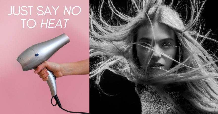 JUST SAY NO TO HEAT THREE SURPRISING FACTS ABOUT HAIR blog image