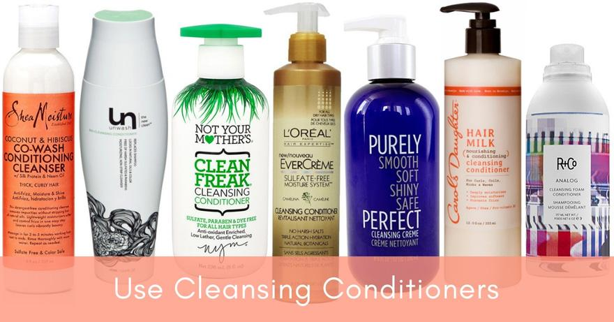 Use Cleansing Conditioners   How Often Should You Wash Your Hair?