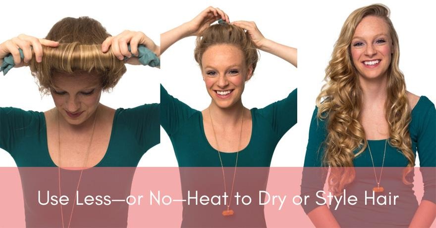 Heatless Curls | How To Have Healthier Hair | Healthy Hair Tips for 2020 and Beyond