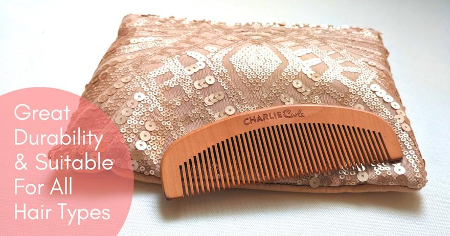 Wooden Comb by CharlieCurls